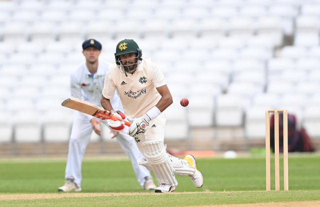 Haseeb Hameed is to skipper Notts Outlaws in the 2021 Royal London Cup
