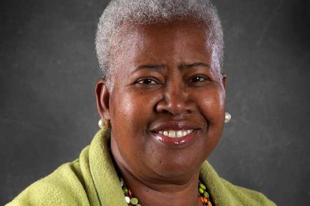Coun Eunice Campbell-Clark is the city council's armed forces champion