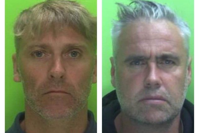 Daniel Parrot (left) and Jason Tongue were both jailed for their parts in the plot