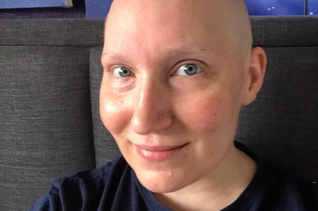 Louisa Holman has been hugely supported by her work colleagues in her brave battle against cancer