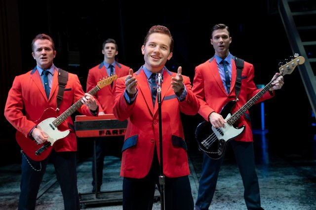 Book your tickets now to see Jersey Boys at Nottingham's Royal Concert Hall next year (Photo credit: Joan Marcus)