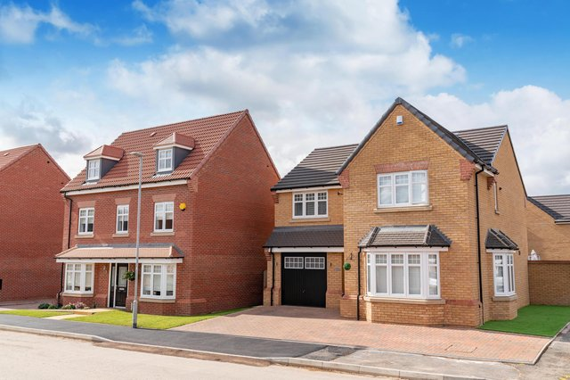 The new showhomes in Hucknall are now available to view