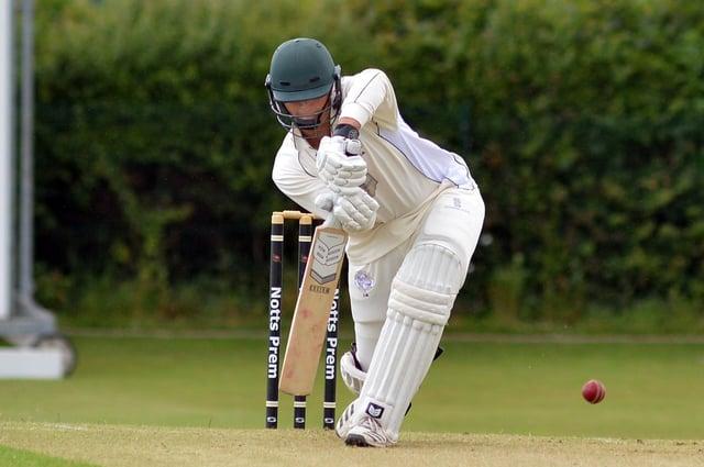Papplewick batsman Louis Bhabra - 54 against Caythorpe.