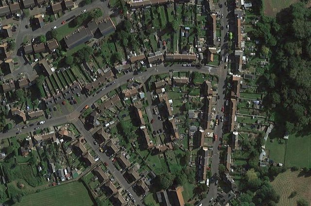 Newstead is one of the areas taking part in the pilot scheme. Photo: Google Earth