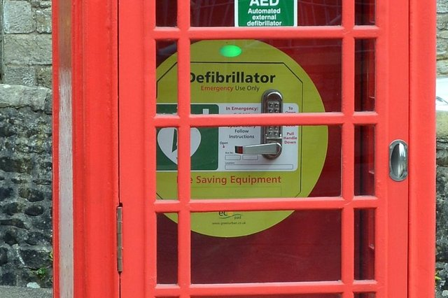 Check where your nearest defibrillator location is