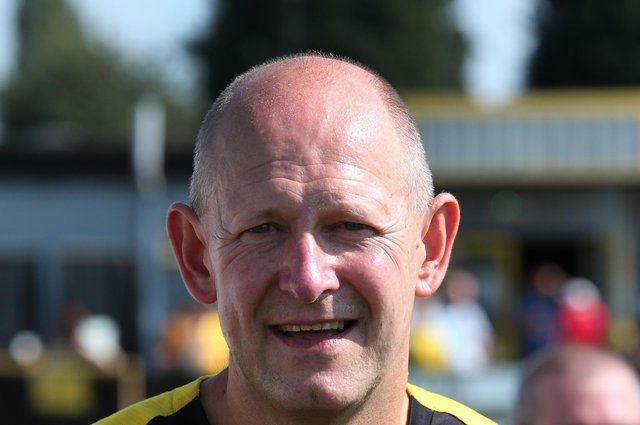 Hucknall town manager Andy Graves.
