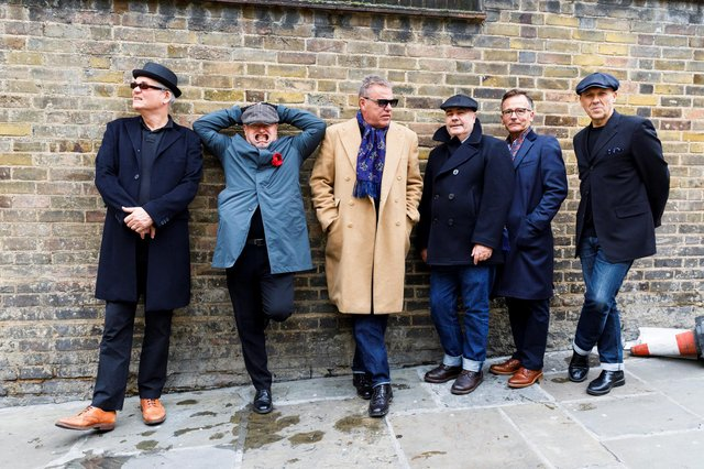 British music legends Madness (Photo by Martin Parr)