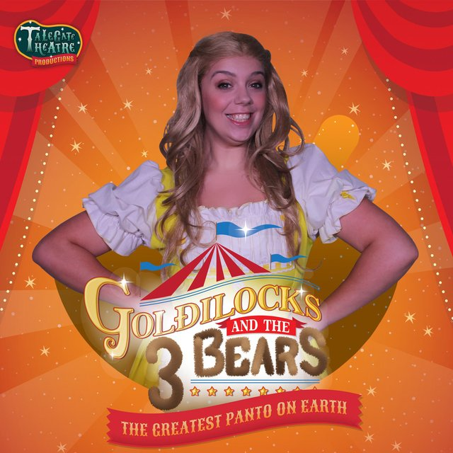 See Talegate Theatre performing Goldilocks And The Three Bears at Thoresby Park and North Notts Arena in August
