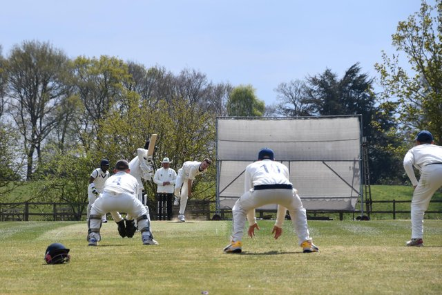 Action from Papplewick's win over Attenborough - Picture by Siobhan Wood.