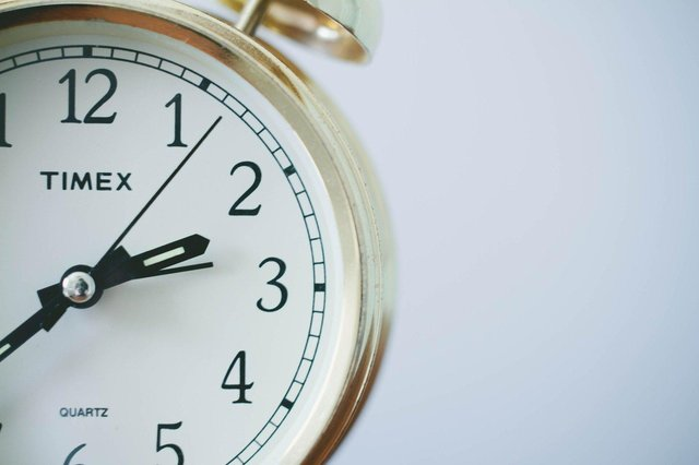 Don't forget the clocks go forward this weekend