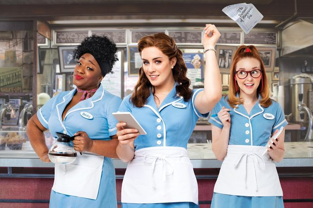 Check out the entertaining musical Waitress at Nottingham's Royal Concert Hall