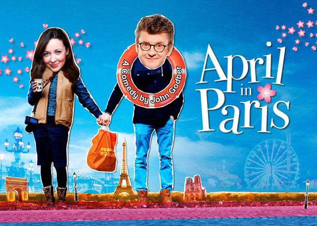 See Joe Pasquale and Sarah Earnshaw in April In Paris