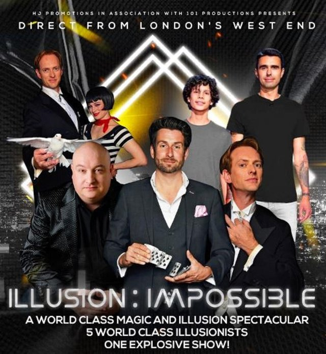 See Illusion: Impossible at Motorpoint Arena Nottingham in October