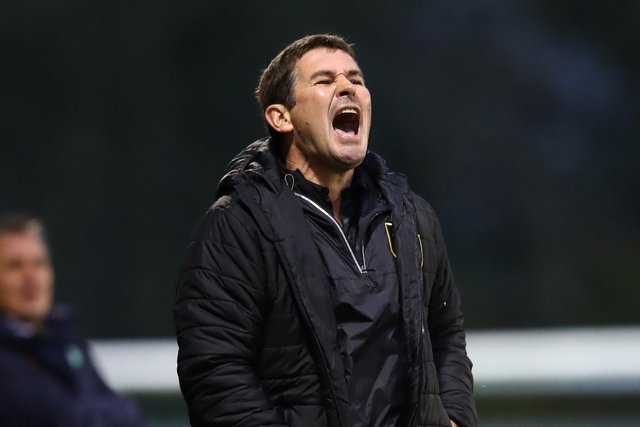 Mansfield Town manager Nigel Clough.