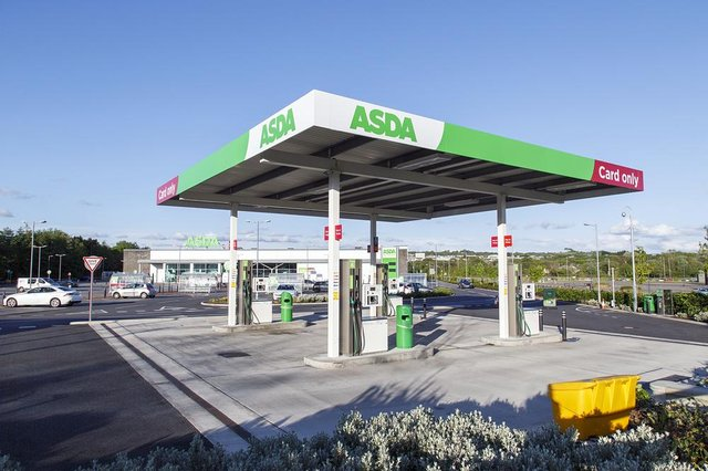Asda has more than 300 filling stations around the UK