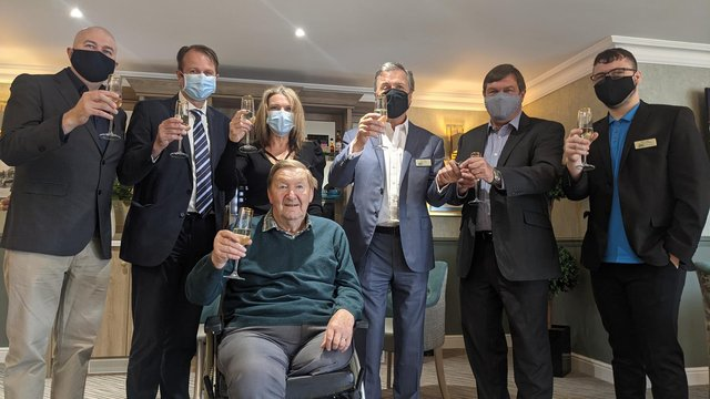 Harrier House has celebrated officially opening its doors to residents