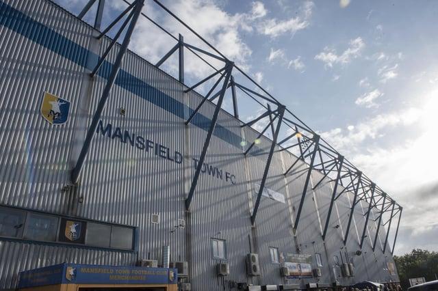 One Call Stadium's Ian Greaves Stand