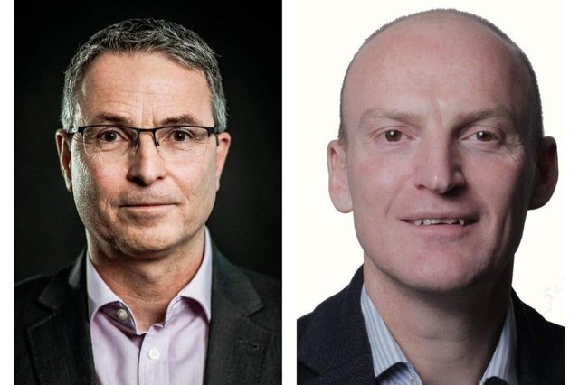 Frank Elkins (left) and Lee Harwood have both joined the BMF board