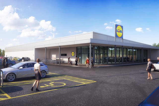 Plans for a new Lidl store in Hucknall are on the point of being rubber-stamped