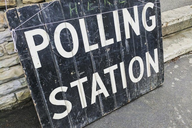 The polls are open until 10pm tonight