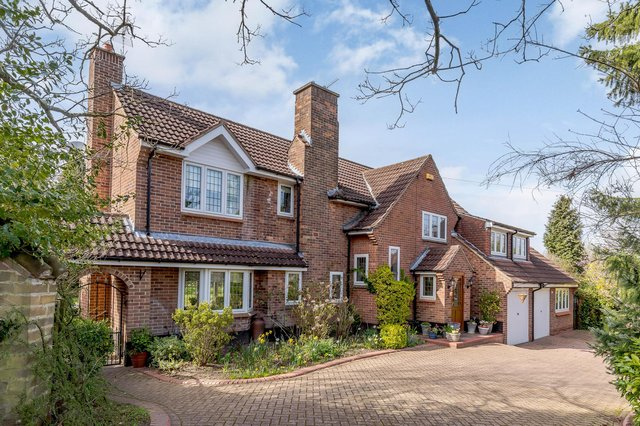 The property is on Beeston Fields Drive and is on the market with Savills for £875,000. All photos: Jon Cruttenden