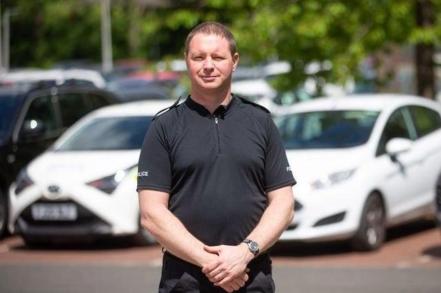 Inspector Mark Dickson, district commander for Ashfield Police.