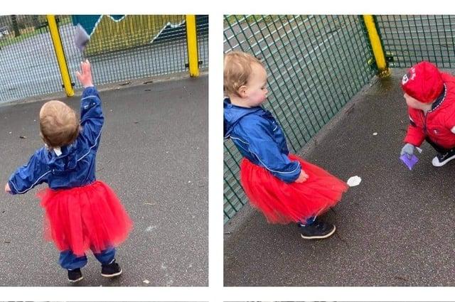 Children took part in activities at Titchfield Park