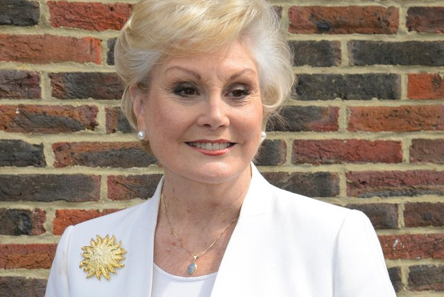 TV personality Angela Rippon will be officially opening Harrier House in Hucknall next month. Photo: Ben A Pruchnie/Getty Images
